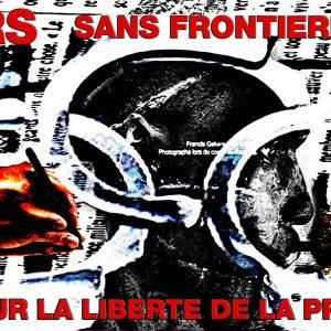 LIEN HUMANITAIRE : REPORTERS SANS FRONTIÈRES - POUR LA LIBERTÉ DE LA PRESSE.  (Images réalisées en 2010 à partir de photos récupérées sur le net).