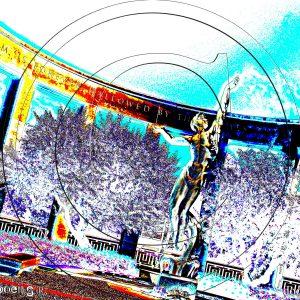 L'ESPRIT DE LA JEUNESSE AMÉRICAINE S'ÉLEVANT DES FLOTS - D-DAY OPÉRATION OVERLORD LE 06 JUIN 1944 NORMANDIE 1D : ESPRIT LIBRE PHOTO DU MONDE