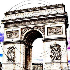 L'ARC DE TRIOMPHE DE L'ÉTOILE DE PARIS : ESPRIT LIBRE PHOTO DU MONDE