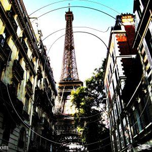 L'IMPASSE SUR LA TOUR EIFFEL DE PARIS : ESPRIT LIBRE PHOTO DU MONDE