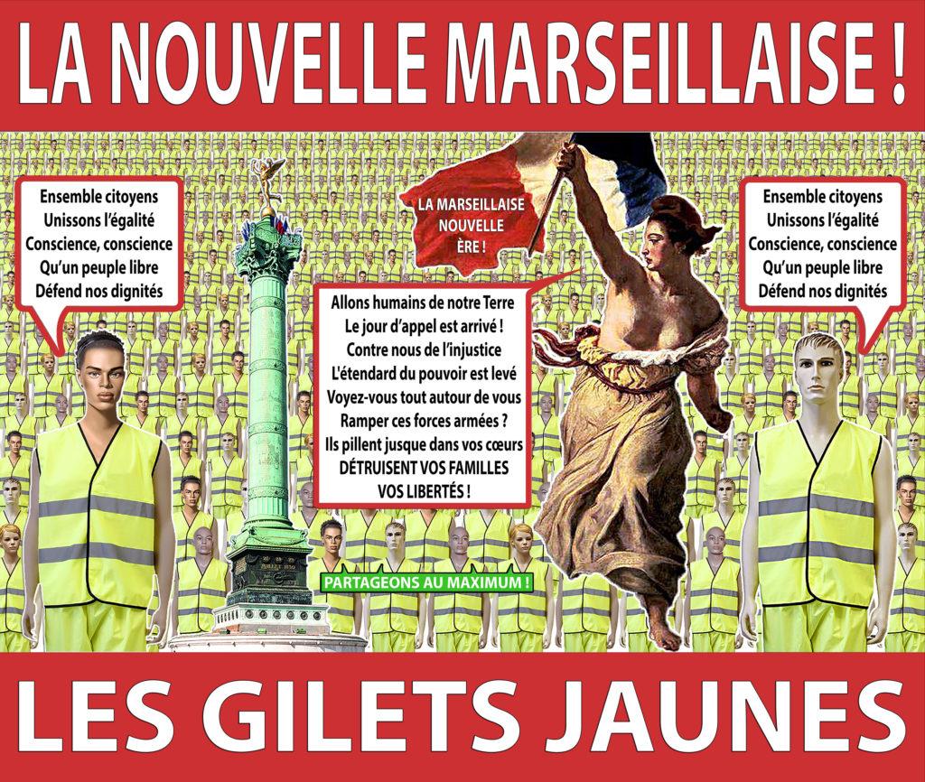 LA NOUVELLE MARSEILLAISE - LES GILETS JAUNES